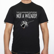 Not a wizard